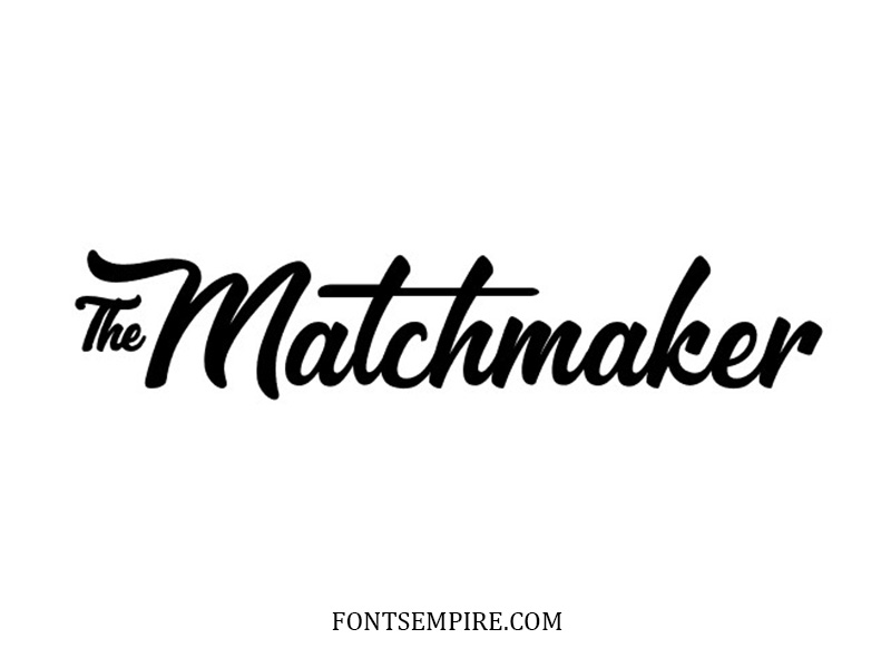 Matchmaker Font Family Free Download