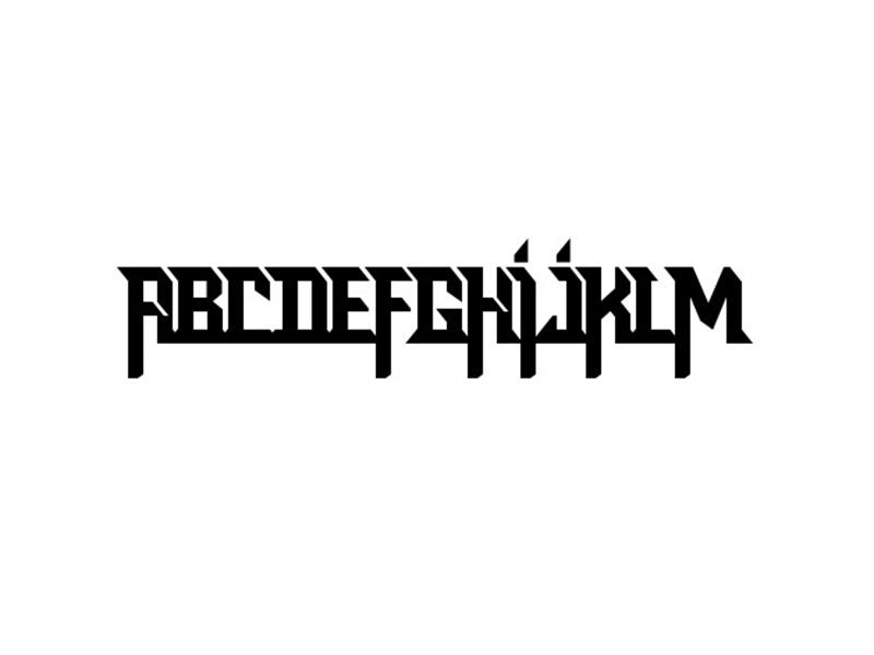 Rock Logo Font Family Download