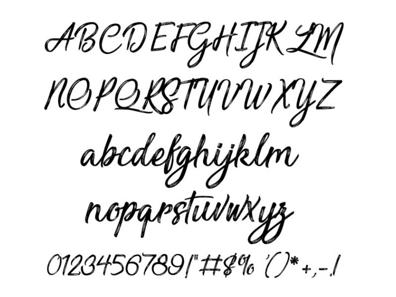 Sensations and Qualities Font Family Download