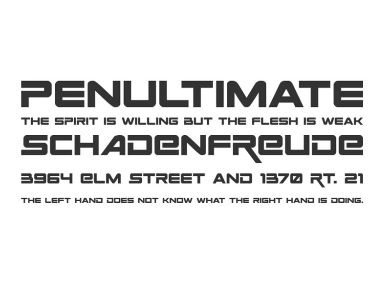 Space Ranger Font Family Download