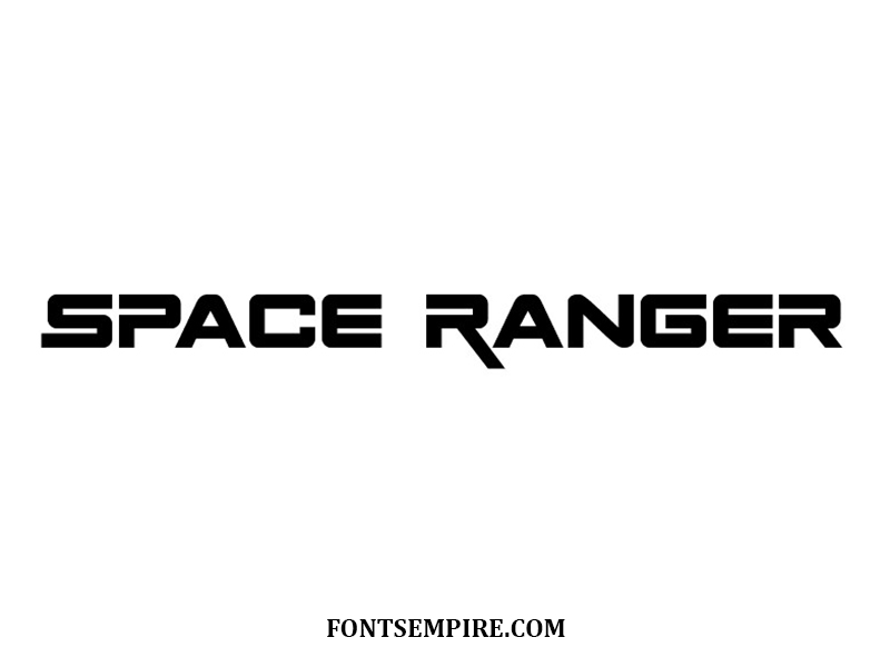 Space Ranger Font Family Free Download