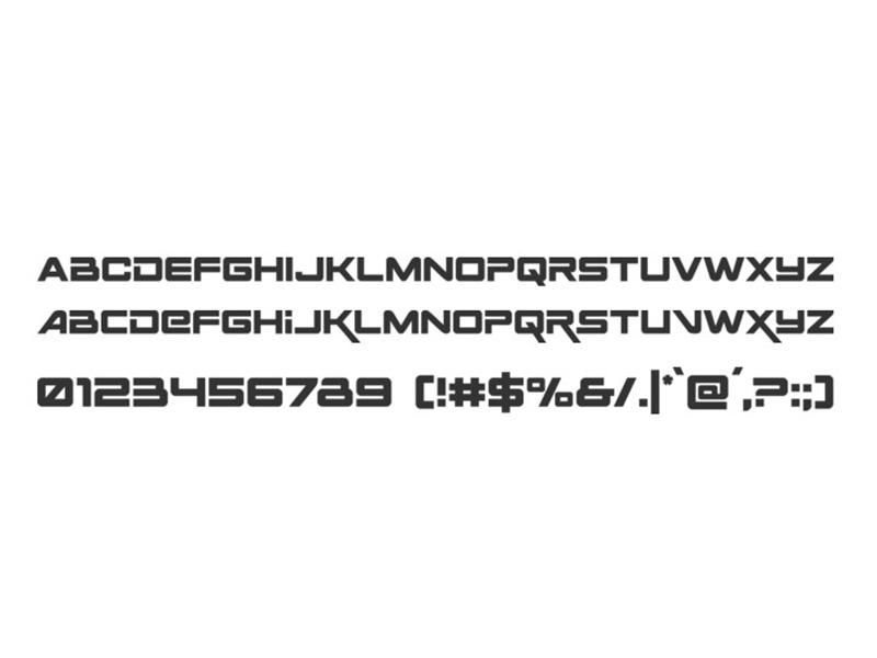 Space Ranger Font Free Download