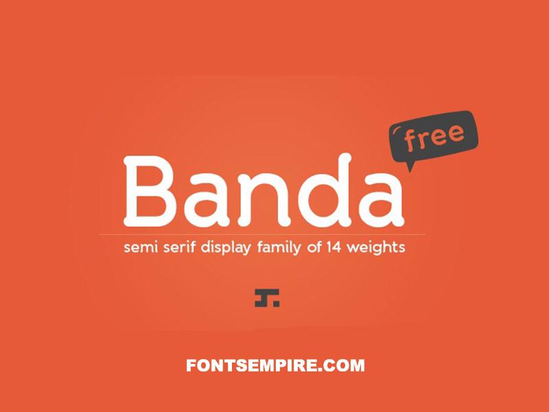 Banda Font Family Free Download