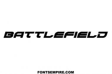 Battlefield Font Family Free Download
