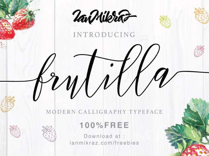 Frutilla Font Family Free Download