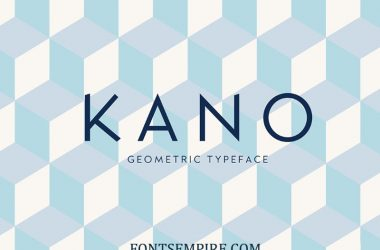 Kano Font Family Free Download