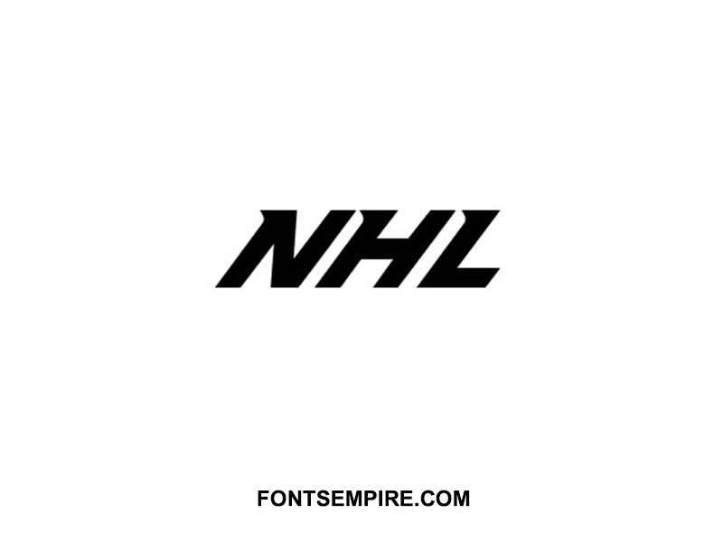 NHL Font Family Free Download