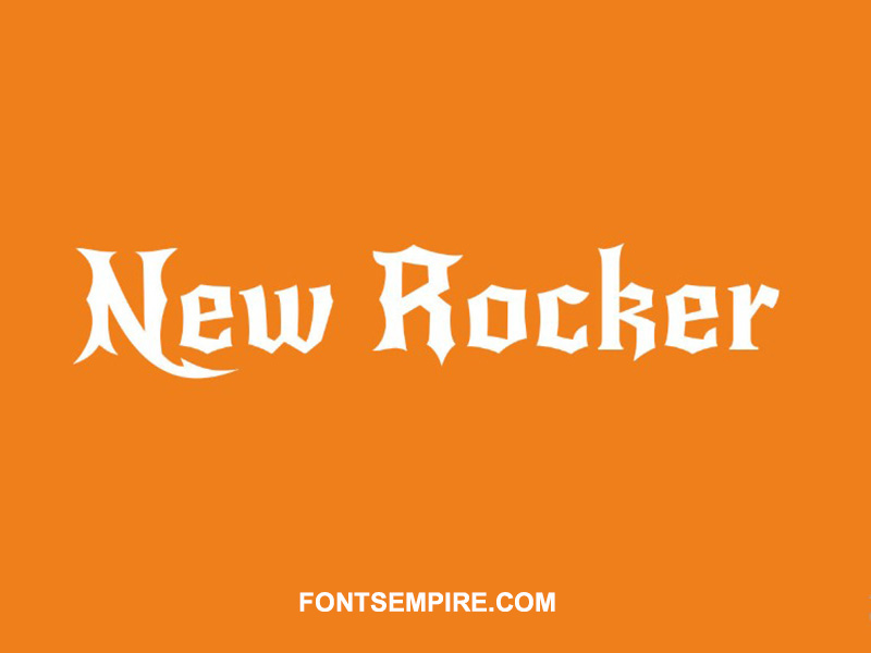 New Rocker Font Family Free Download