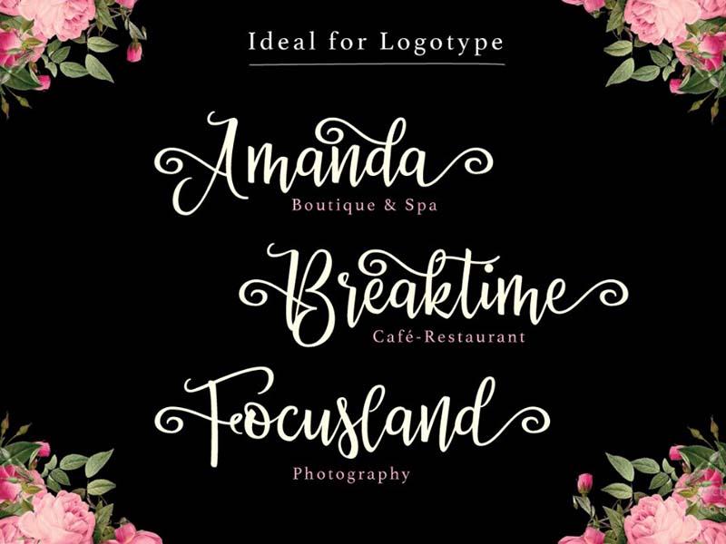 Priscilla Font Family Download