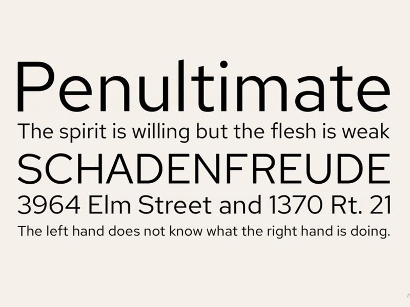 Red Hat Font Family Download