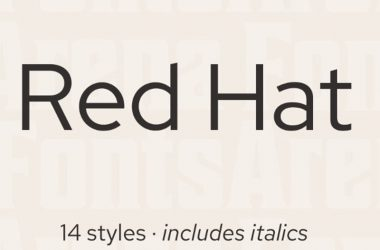 Red Hat Font Family Free Download
