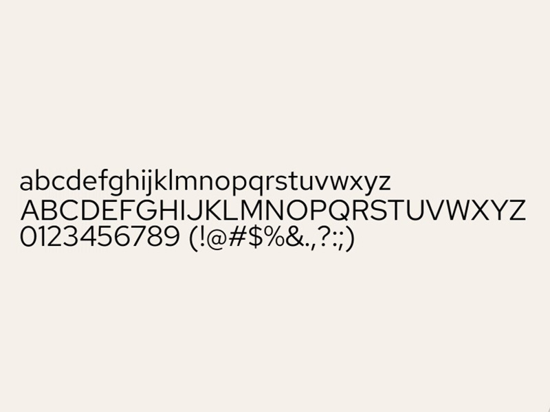 Red Hat Font Free Download