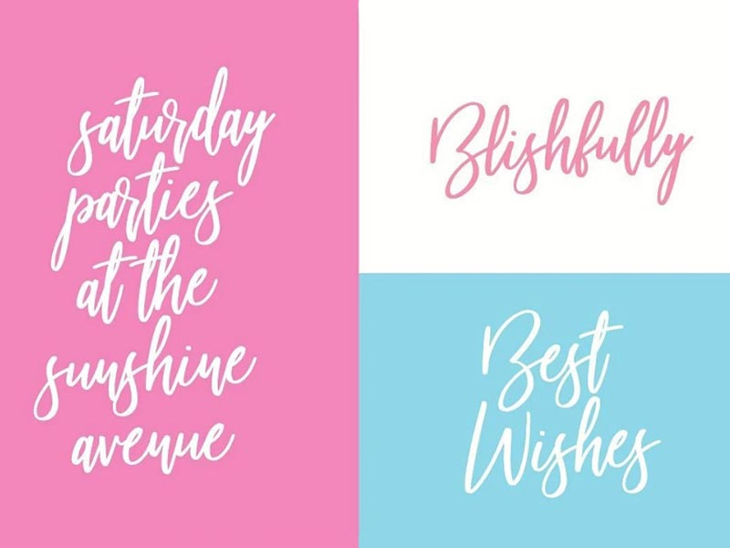 Beautiful Bloom Font Free Download