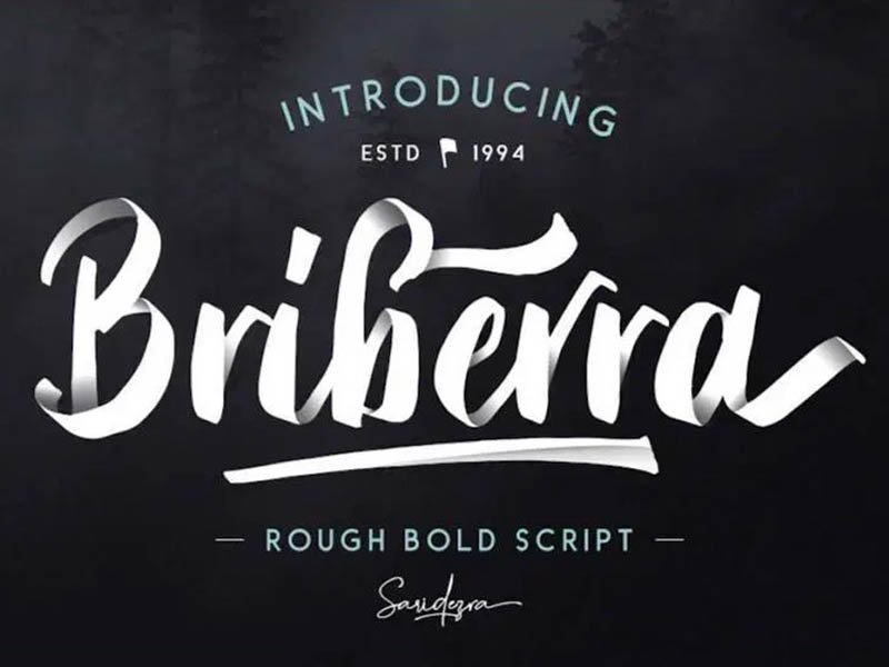 Briberra Font Family Free Download