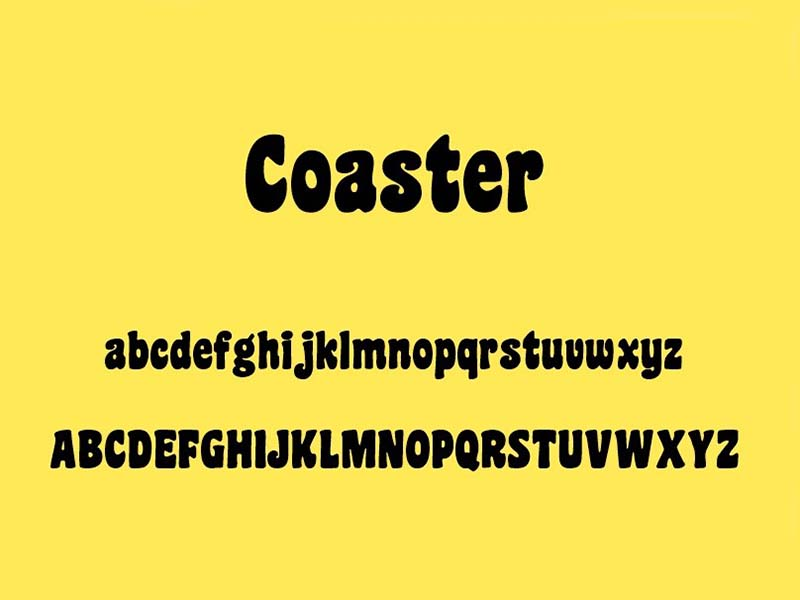 Coaster Font Family Download
