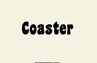 Coaster Font Family Free Download