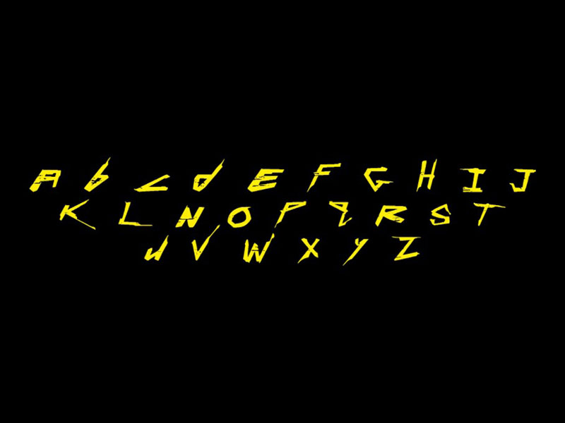 Cyberpunk Font Family Download