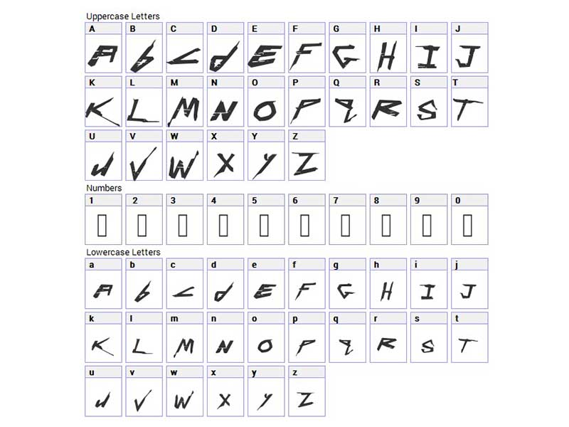 Cyberpunk Font Free Download