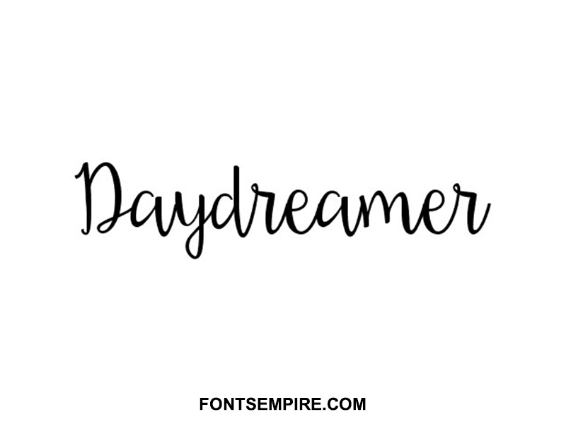 Daydreamer Font Family Free Download