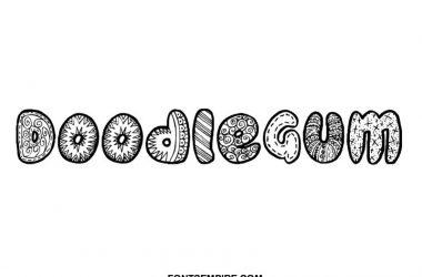 Doodlegum Font Family Free Download