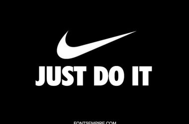 Nike Just Do It Font Family Free Download