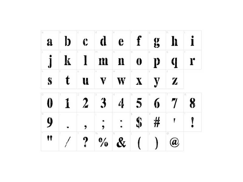 Top Secret Stamp Font Family Download