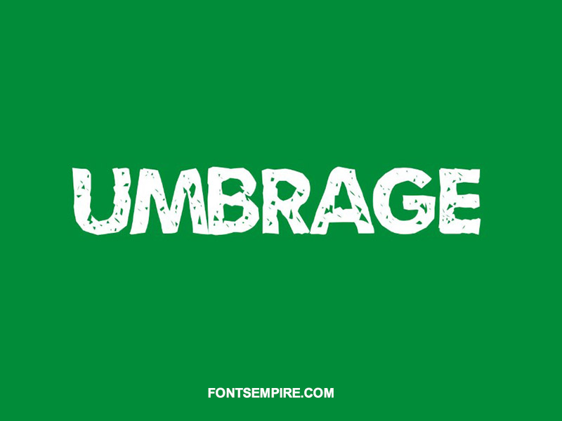 Umbrage Font Family Free Download