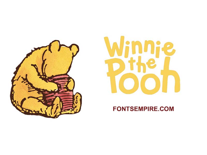 Winnie The Pooh Font Family Free Download