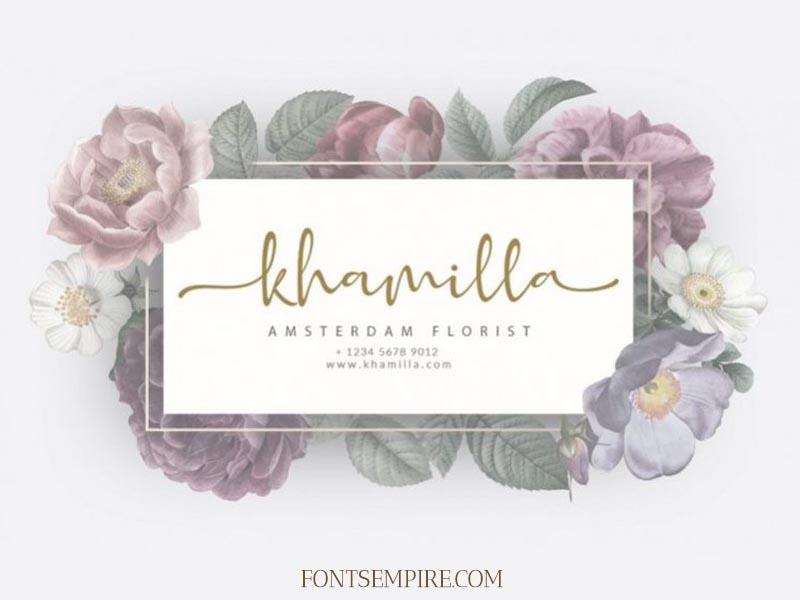 Adinda Melia Font Family Free Download