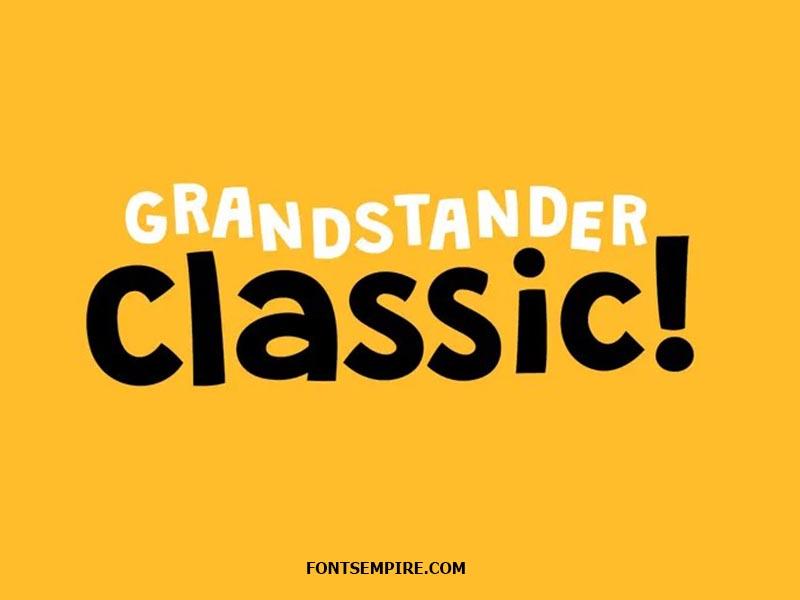 Grandstander Font Family Free Download