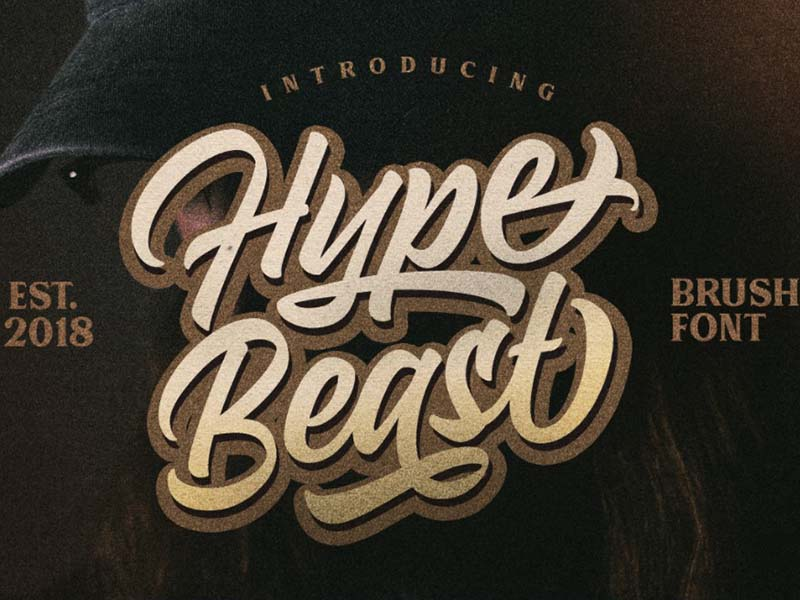Hypebeast Font Family Free Download