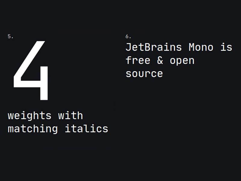 Jet Brains Font Family Download