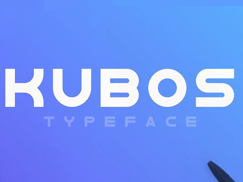 Kubos Font Family Free Download