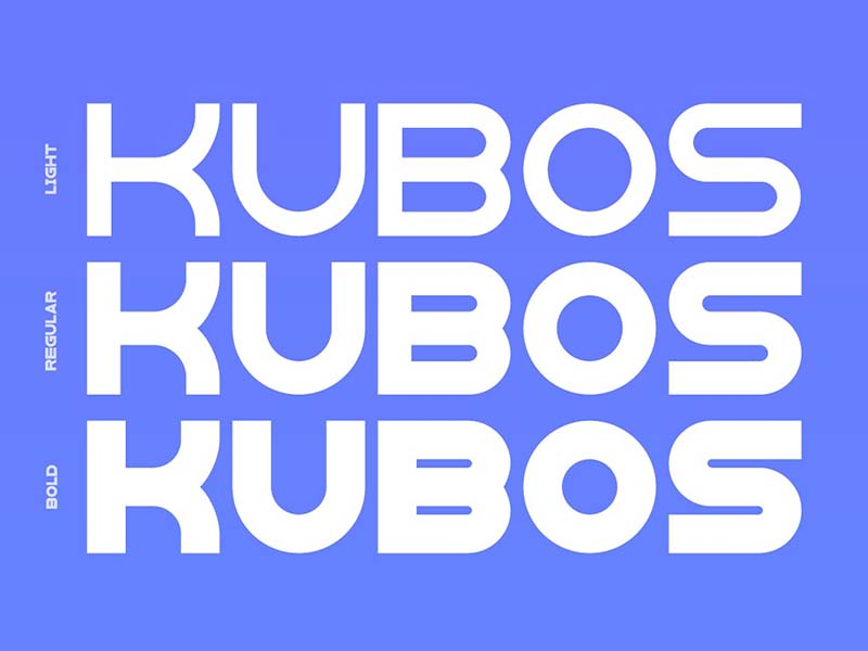 Kubos Font Free Download
