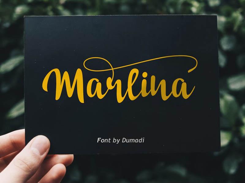 Marlina Font Family Free Download