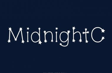 Midnight Constellations Font Family Free Download