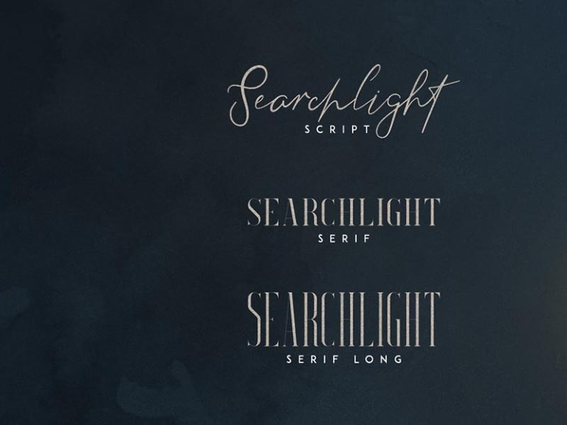 Searchlight Font Family Download