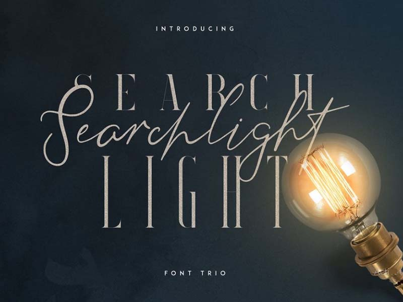 Searchlight Font Family Free Download