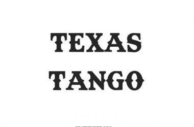 Texas Tango Font Family Free Download