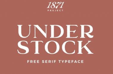 Under Stock Font Family Free Download