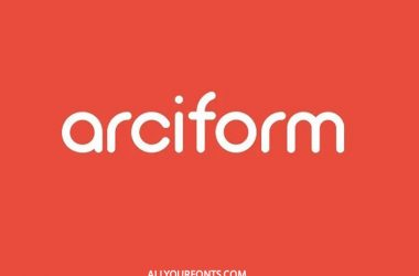 Arciform Font Family Free Download