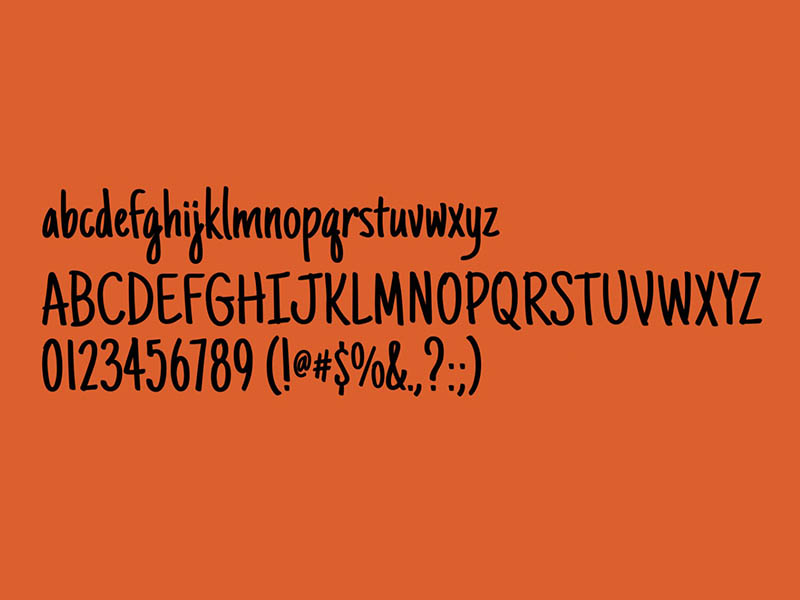 Just Another Hand Font Free Download