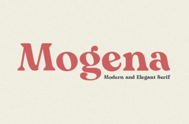 Mogena Font Family Free Download