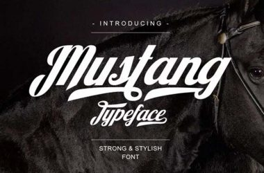Mustang Font Family Free Download