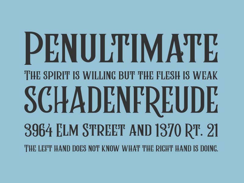 Rumble Brave Font Family Download