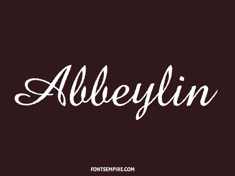 Abbeylin Font Family Free Download