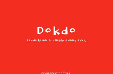 Dokdo Font Family Free Download