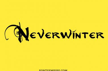 Neverwinter Font Family Free Download